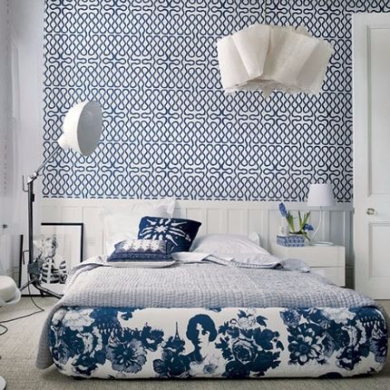 bedroom inspiration Bedroom Inspiration in Shades of Grey and Blue master bedroom design in shades of grey and blue modern bedroom ideas 2