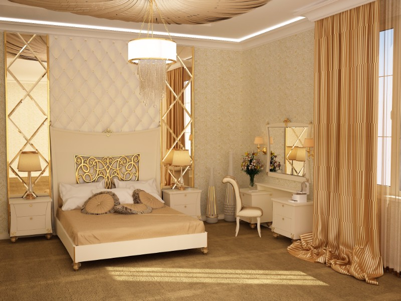 master bedroom master bedroom 10 Master Bedrooms with Gold Accent Décor master bedroom ideas modern bedroom design ideas golden decor