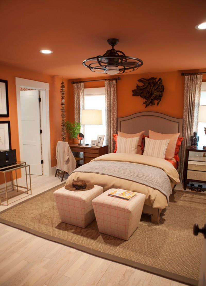 Bedroom Inspiration Orange Bedroom Inspiration for Thanksgiving 2017 orange bedroom design