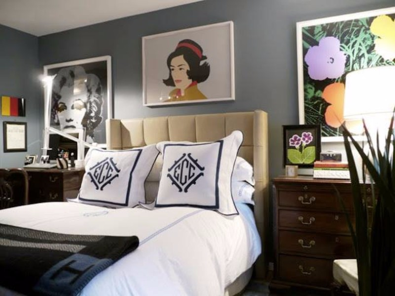 bedroom design Bedroom Design Bedroom Designs by Top Interior Designers: Eric Cohler pop art master bedroom by eric cohler modern master bedroom ideas bedroom design