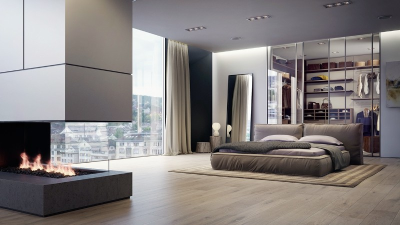 simple bedroom design 10 Elegant yet Simple Bedroom Designs sleek bedroom