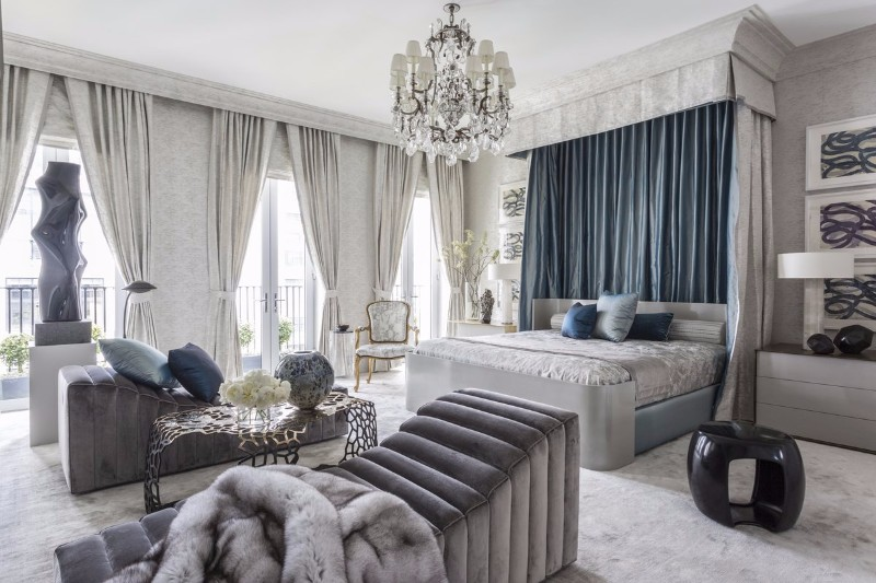 bedroom themes 10 Defining Bedroom Themes for 2018 transitional style bedroom design kips bay showhouse