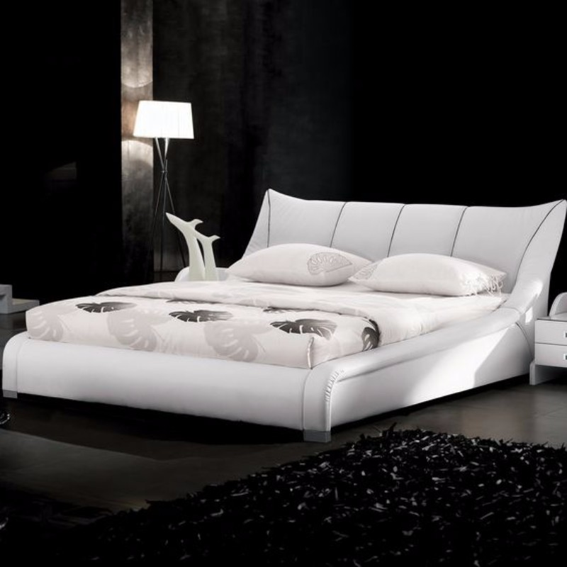 black and white bedroom 10 Black and White Bedrooms in Contemporary Style 2e0d410811e8347ec4a53be8f87c24d1