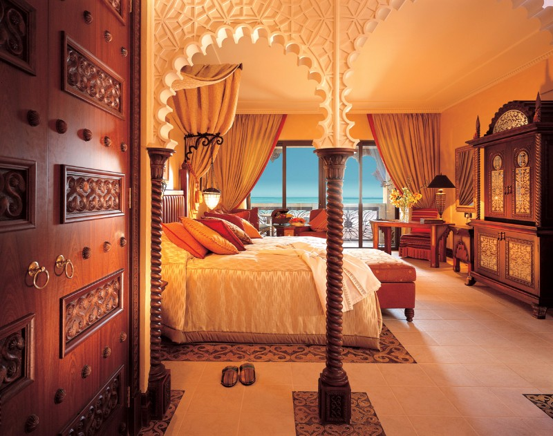 hotel room design 10 Most Luxurious Hotel Room Designs in Dubai Al Qasr at Madinat Jumeirah