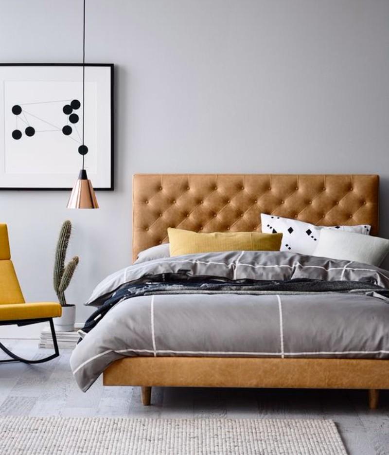 best bedroom The 10 Best Bedroom Designs of 2017 best bedrooms of 2017 modern master bedroom ideas bedroom design 7 leather headboard 1