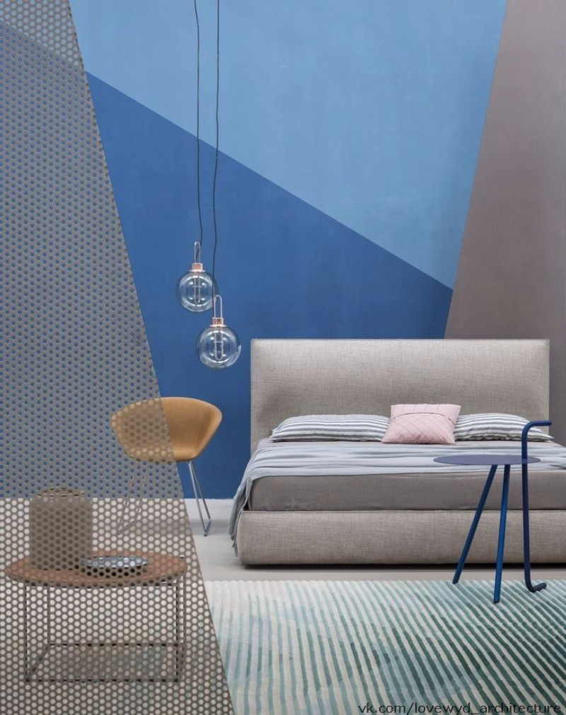 master bedroom design Trends 2018: Colorful Master Bedroom Designs blue and grey modern master bedroom design ideas interior decor