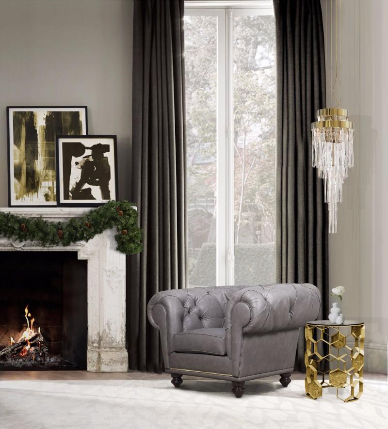 cozy bedroom ideas 10 Cozy Bedroom Ideas For Christmas Day chesterfield armchair hr 01 natal