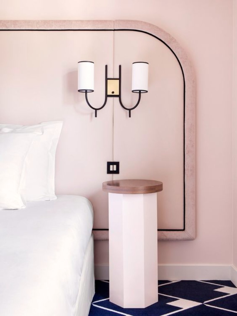 bedroom inspiration Bedroom Inspiration: 10 Charming Bedrooms in Millennial Pink ffae25bb8e61bcfe9fcc6e5a7326fa97