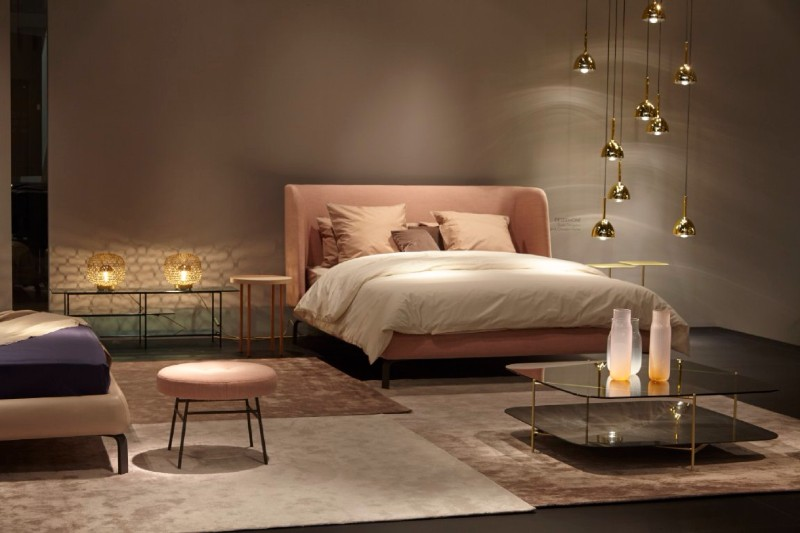 ligne roset Ligne Roset French Master Bedroom Brands at Maison Et Objet: Ligne Roset gorgeous modern bedroom design by ligne roset master bedroom ideas