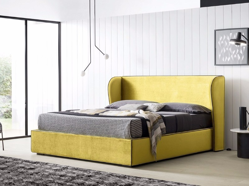master bedroom design Trends 2018: Colorful Master Bedroom Designs grey and yellow bedroom design master bedroom design ideas
