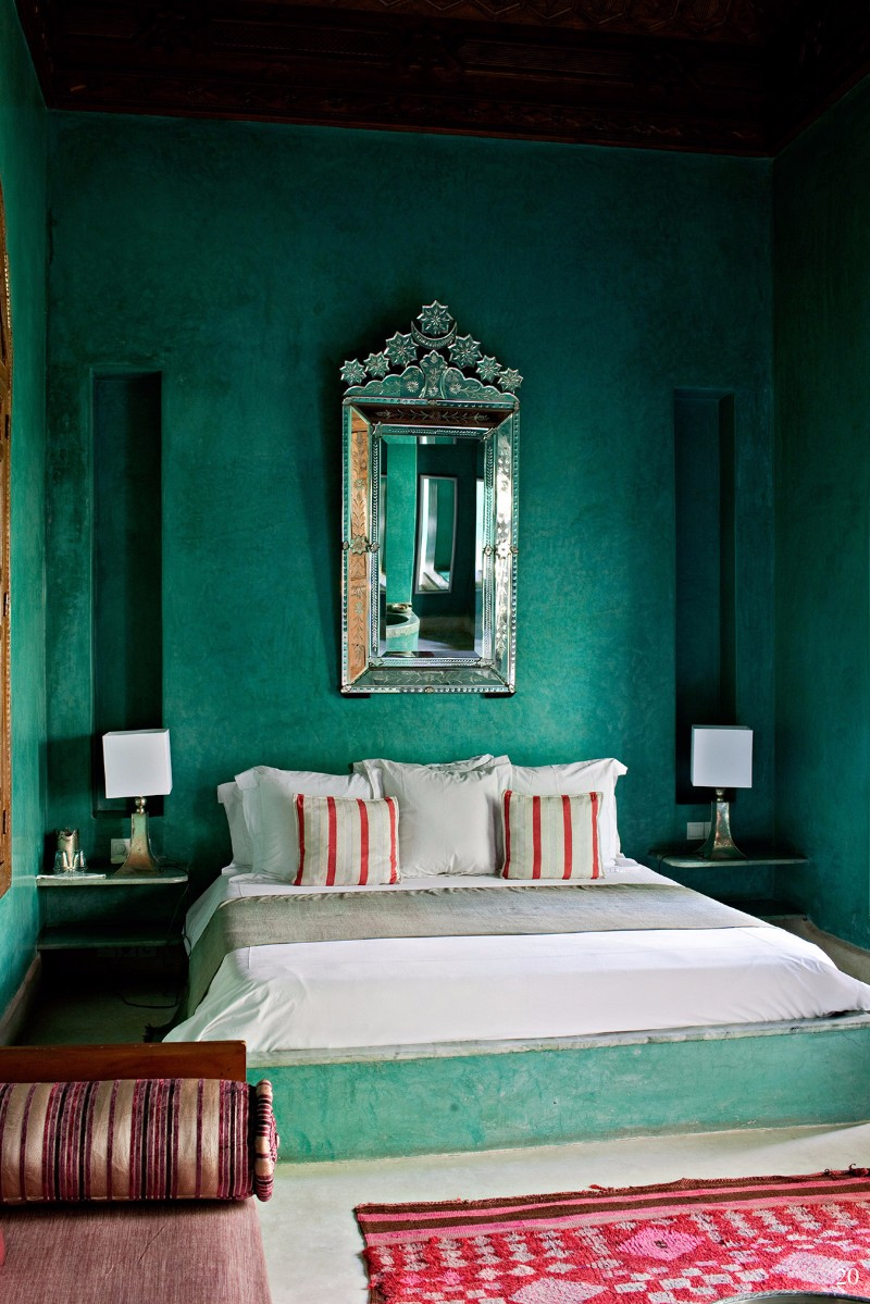 green bedroom 10 Stunnning Emerald Green Bedroom Designs master bedroom design ideas modern bedroom inspiration