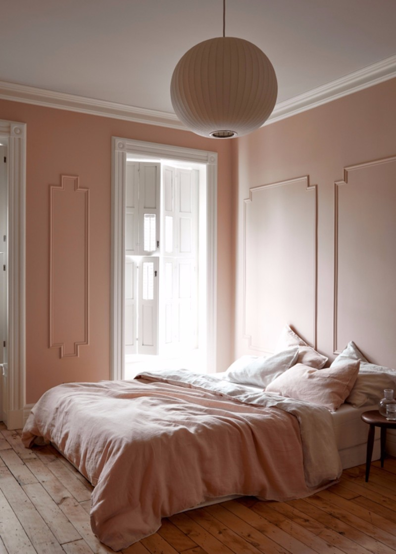 bedroom inspiration Bedroom Inspiration: 10 Charming Bedrooms in Millennial Pink millenial pink bedroom design ideas modern bedroom decor interior design styles