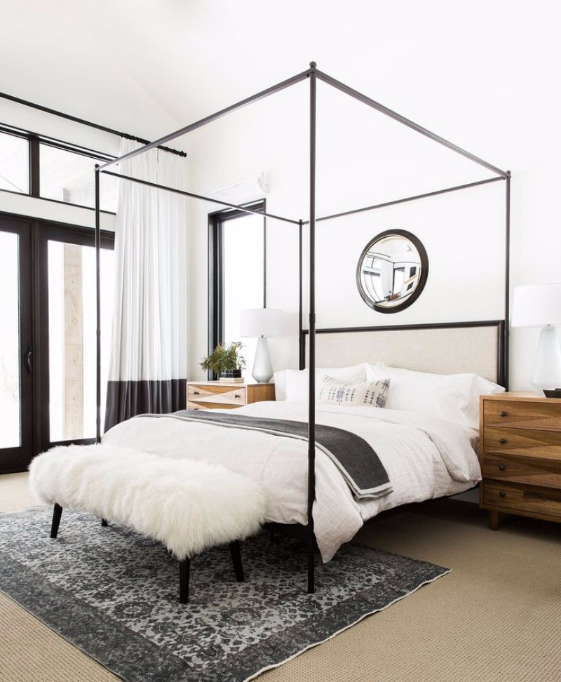 master bedroom design 10 Master Bedroom Designs with Modern Canopy Beds modern canopy bed bedroom design ideas modern inspiration