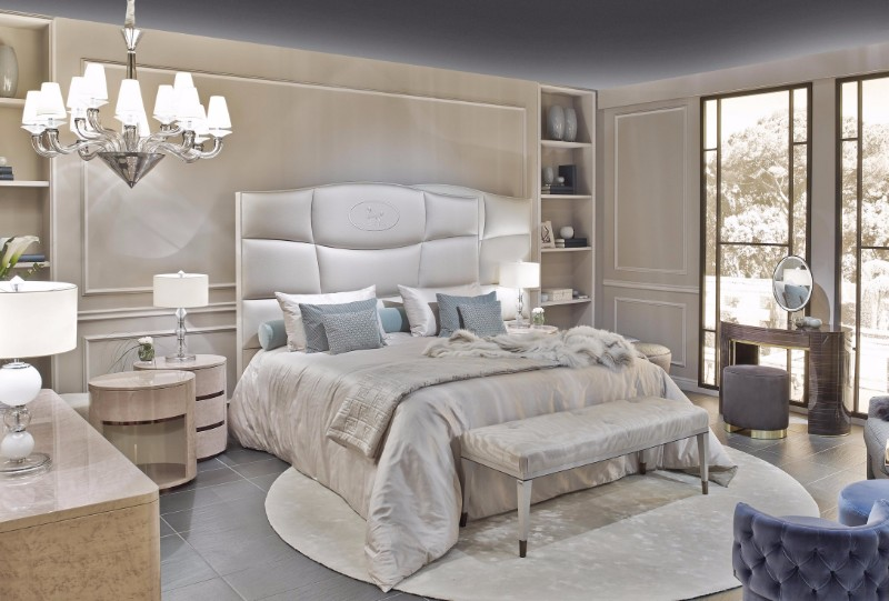 Ligne Roset French Master Bedroom Brands at Maison Et Objet: Ligne Roset modern master bedroom ideas bedroom inspiration dream bedroom design