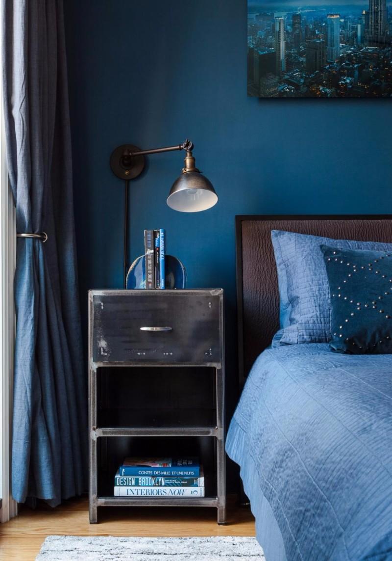 blue bedroom Master Bedroom Trends 2018: Palace Blue Bedrooms palace blue bedroom design ideas modern bedroom decor master bedroom design