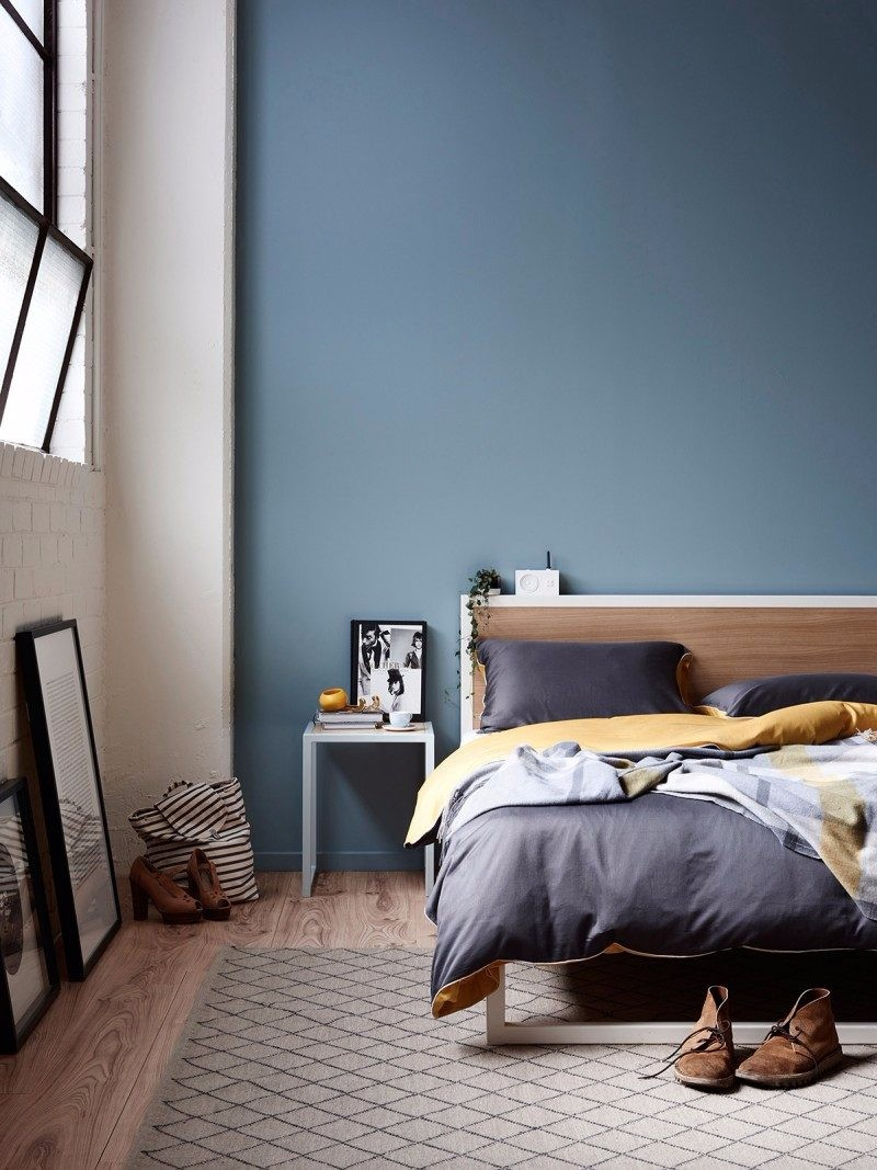 blue bedroom Master Bedroom Trends 2018: Palace Blue Bedrooms palace blue bedroom design ideas modern master bedroom decor