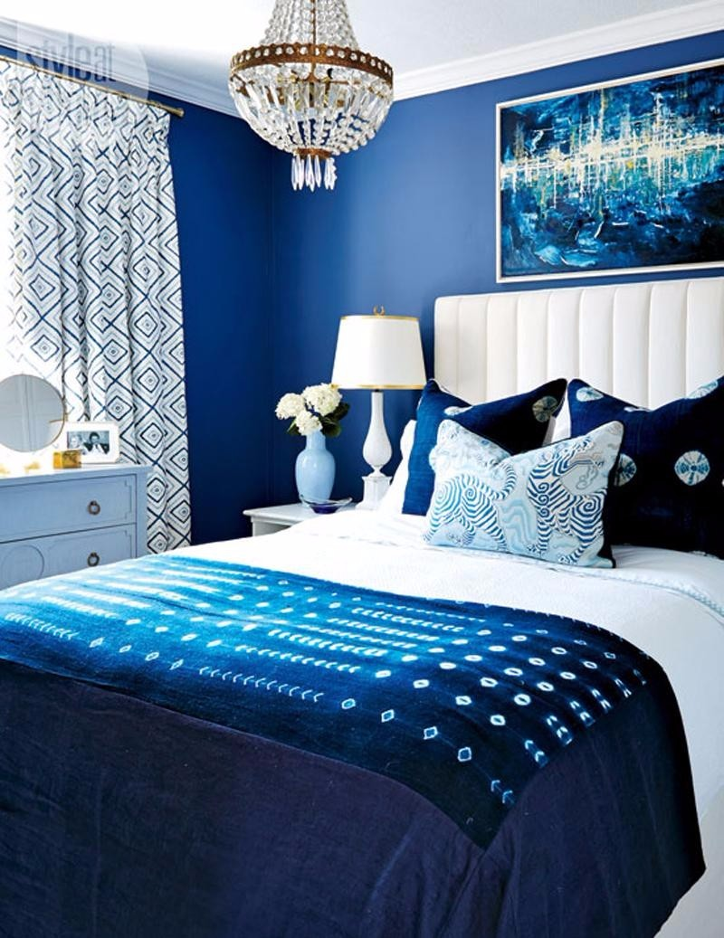 blue bedroom Master Bedroom Trends 2018: Palace Blue Bedrooms palace blue master bedroom ideas modern bedroom inspiration dream bedroom design