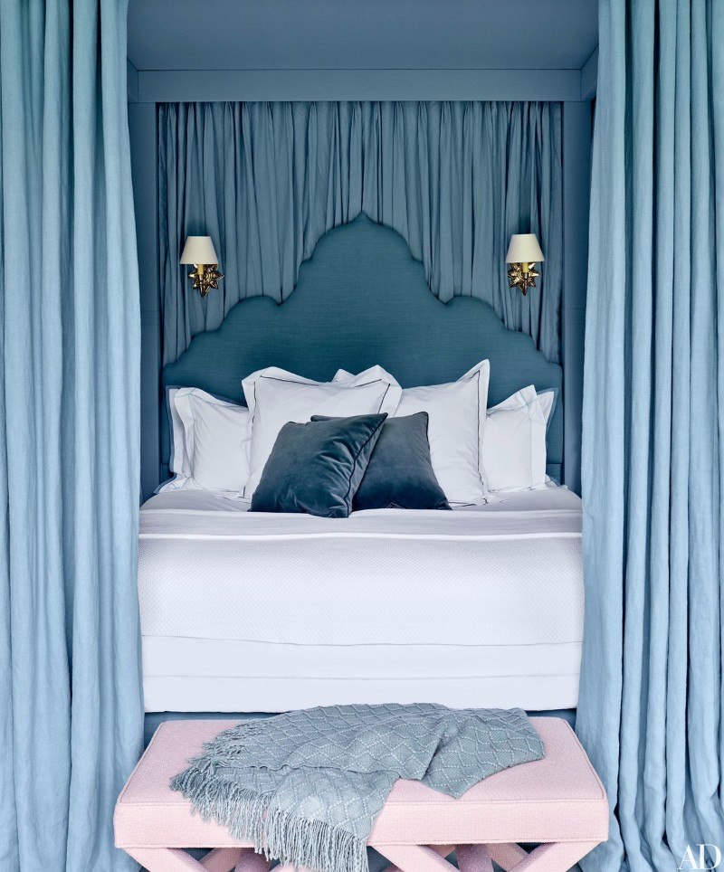 Master Bedroom Trends 2018: Palace Blue Bedrooms – Master ...