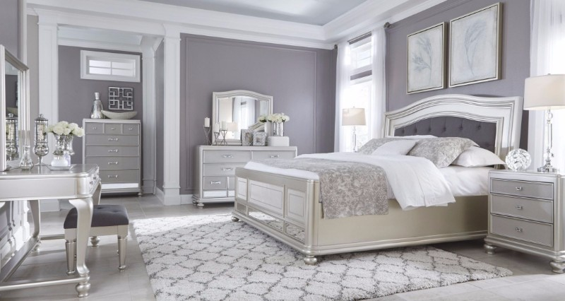 bedroom inspiration Sumptuous Bedroom Inspiration in Shades of Silver silver master bedroom inspiration design ideas modern bedroom decor