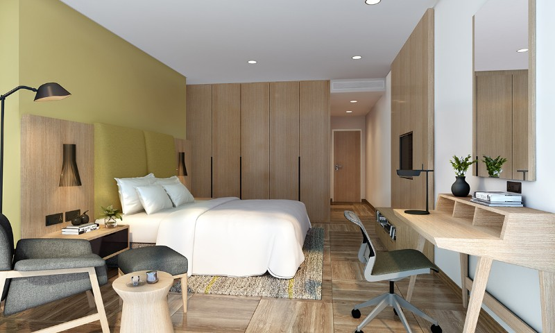 hotel room design 10 Hotel Room Designs by Hirsch Bedner Associates arwa elements hotel and apartments hba modern hotel room design