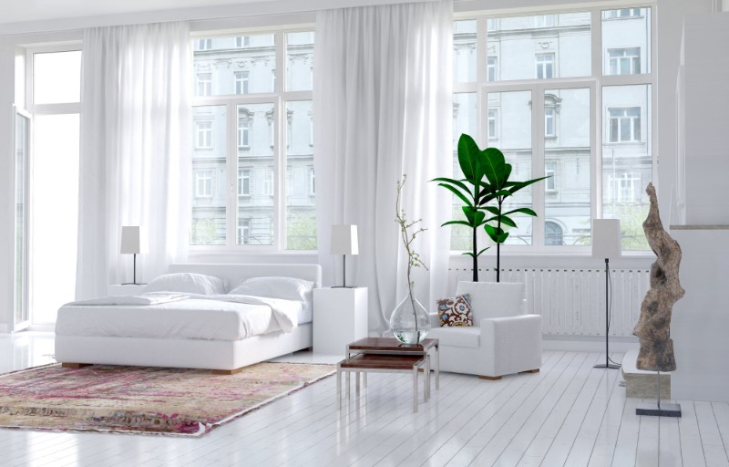 all white bedroom 10 All White Bedrooms for 2018 beautiful all white bedroom design modern bedroom ideas interior design 3