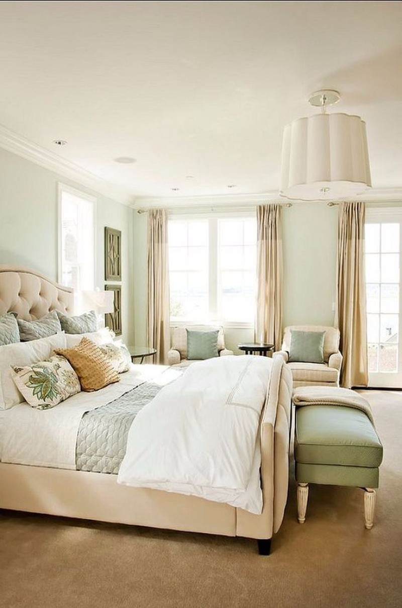 Bedroom color schemes for 2018 cream master bedroom ideas for Bedroom color schemes