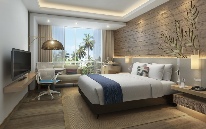 hotel room design 10 Hotel Room Designs by Hirsch Bedner Associates hilton garden inn kuta bali hba modern master bedroom ideas hotel room design