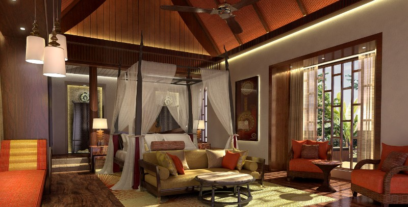 hotel room design hotel room design 10 Hotel Room Designs by Hirsch Bedner Associates ritz carlton reserve phuket thailand modern hotel room design