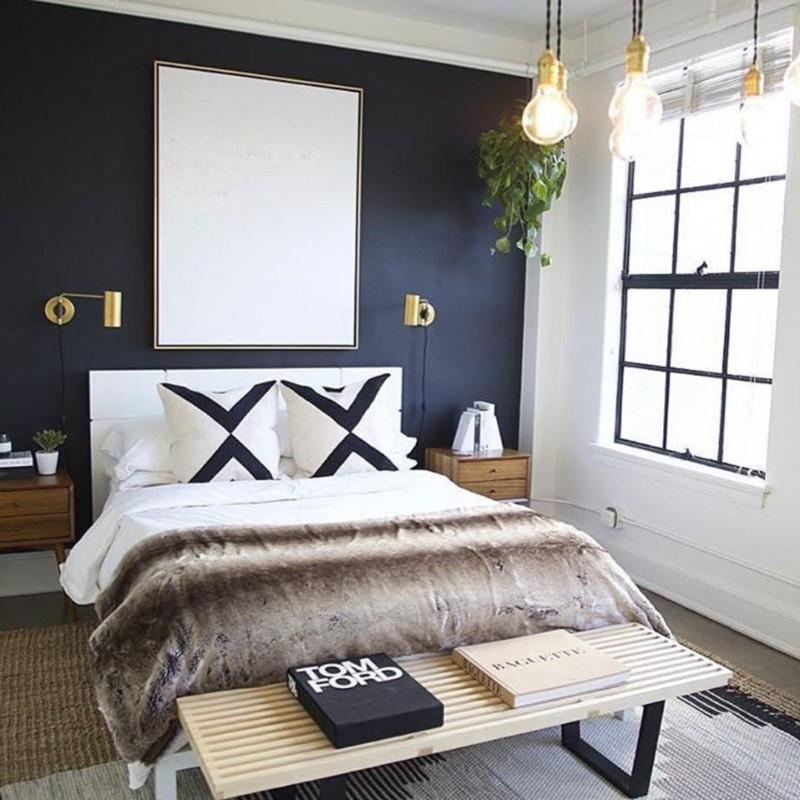 blue bedroom Deep Blue Bedroom Inspiration for 2018 Deep Blue Bedroom Inspiration for 2018 1
