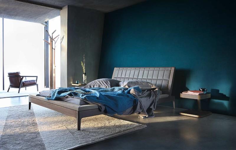 master bedroom blue bedroom Deep Blue Bedroom Inspiration for 2018 Deep Blue Bedroom Inspiration for 20186