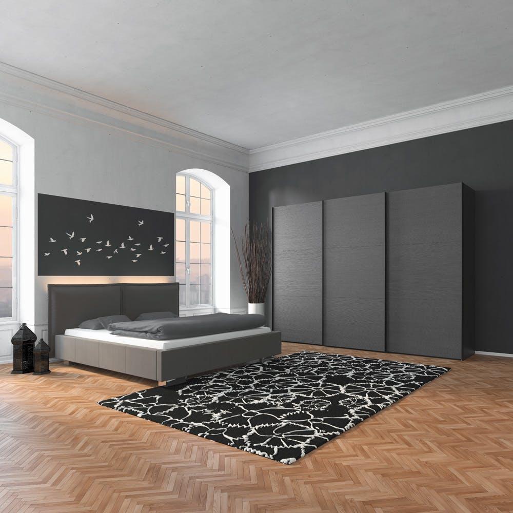 Jutzler imm cologne Enter IMM Cologne 2018: Master Bedroom Ideas by JUTZLER Jutzler Slideline Lifestyle Fino Antrachite