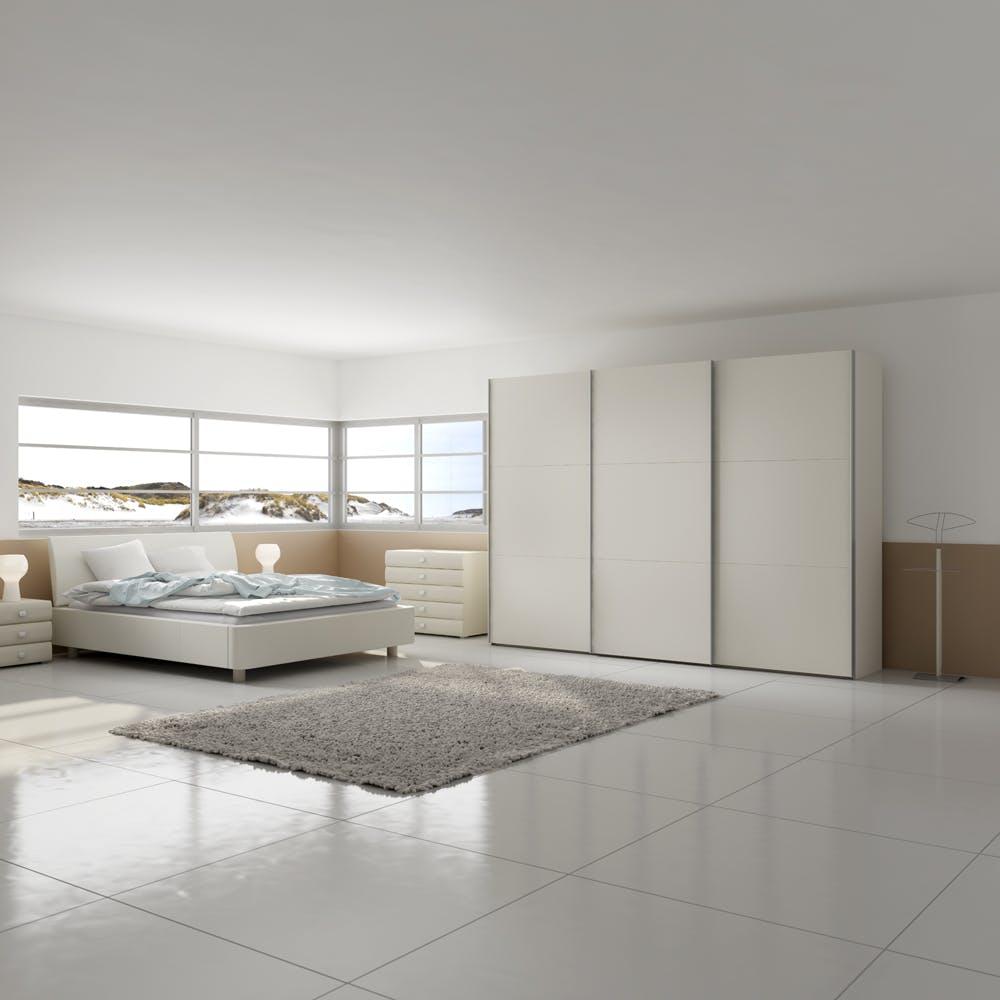 Jutzler imm cologne Enter IMM Cologne 2018: Master Bedroom Ideas by JUTZLER Jutzler Slideline Lifestyle White