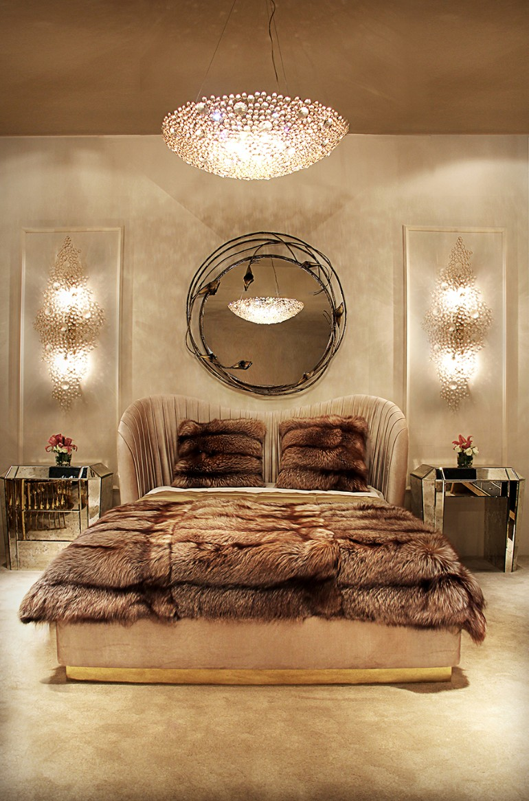 room design, bedroom design ideas, bedroom sets bedroom trends Latest Bedroom Trends You Missed At Maison & Objet 2018 Luxury Master Bedrooms By Famous Interior Designers 7 1