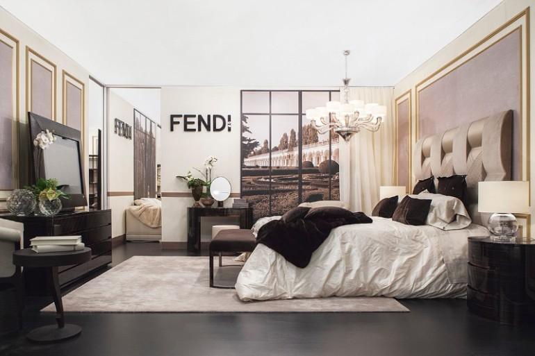 master bedroom interior design , maison et objet 2018 maison et objet 2018 Maison et Objet 2018 Most Inspiring Exhibitors Luxury Master Bedrooms By Famous Interior Designers fendi