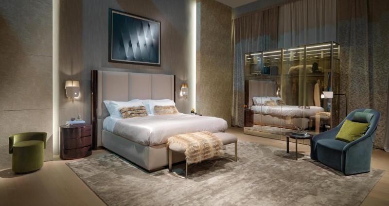 maison et objet Luxury Master Bedrooms Maison Et Objet: Fendi Casa Luxury Master Bedrooms Maison Et Objet Fendi Casa2