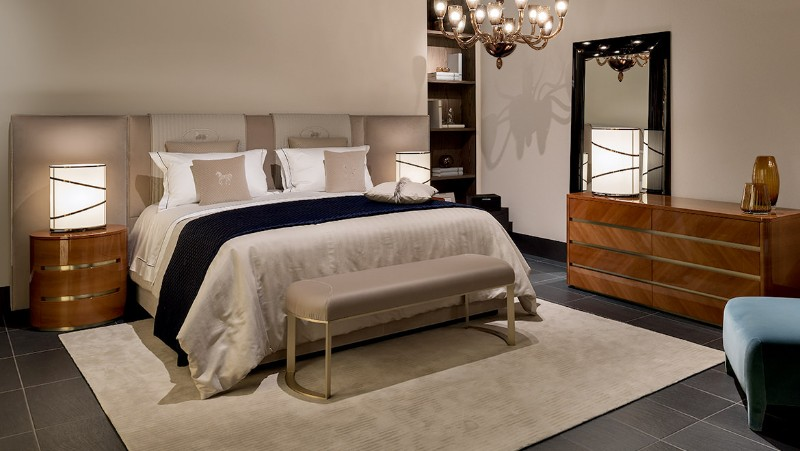 Luxury master bedrooms maison et objet fendi casa for Fendi casa bedroom