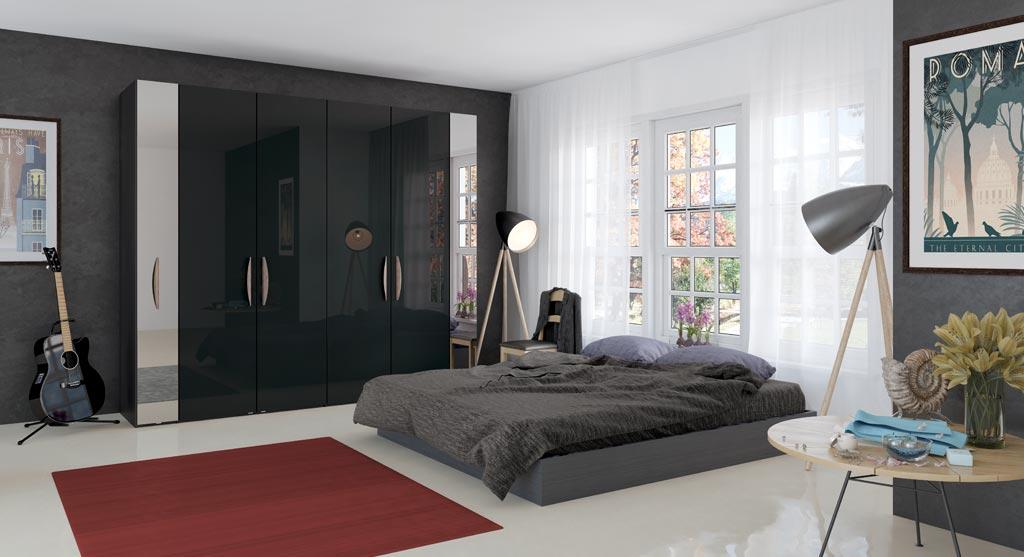 Jutzler  imm cologne Enter IMM Cologne 2018: Master Bedroom Ideas by JUTZLER ankleide kleiderschraenke schranksysteme velbert Bettenstudio Sieker 19