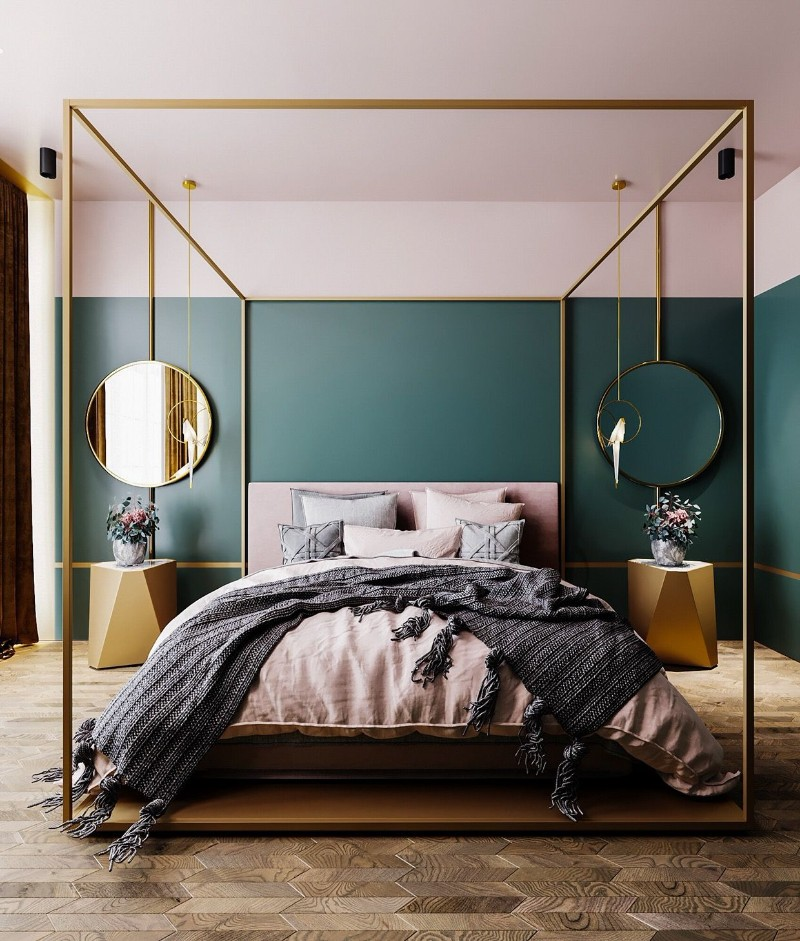 master bedroom 10 Master Bedroom Trends for 2018 four poster beds 3