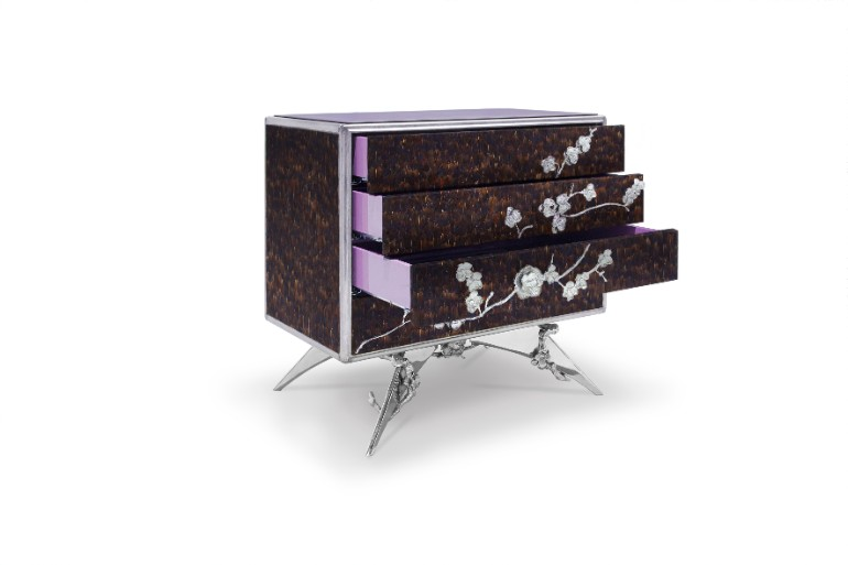 modern nightstands Amplify The Beauty Of Your Room With Modern Nightstands 10 Exclusive Bedside Tables for your Master Bedroom Decor10 1