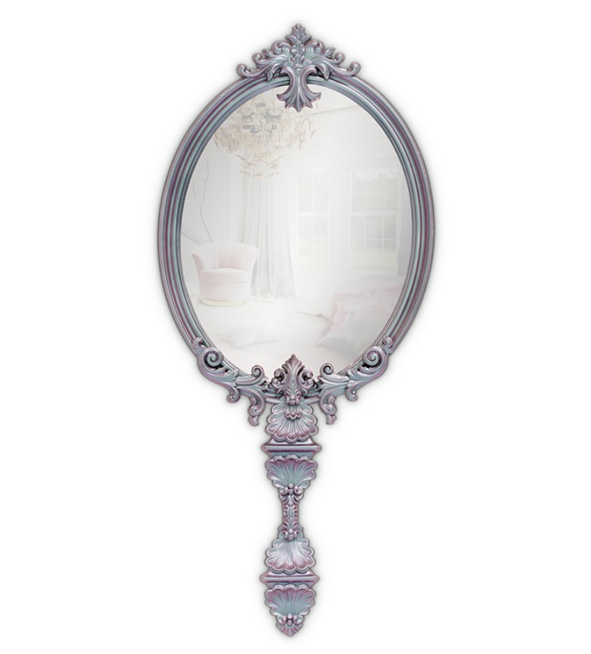 bedroom mirrors Discover The Best Bedroom Mirrors To Inspire You CHAMELEON PINK MIRROR