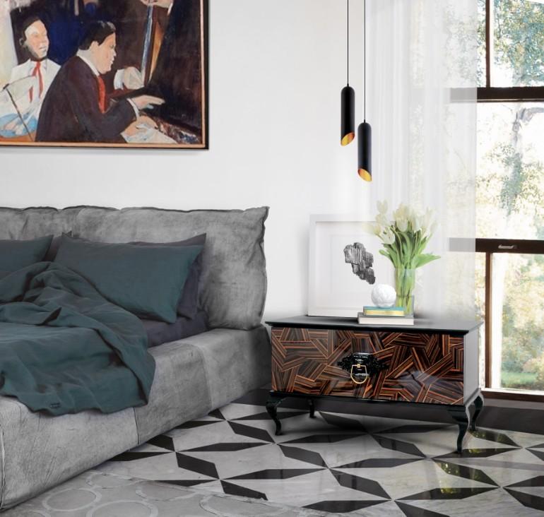 bedroom nightstands Striking Master Bedroom Nightstands For 2018 guggenheim Boca Do Lobo