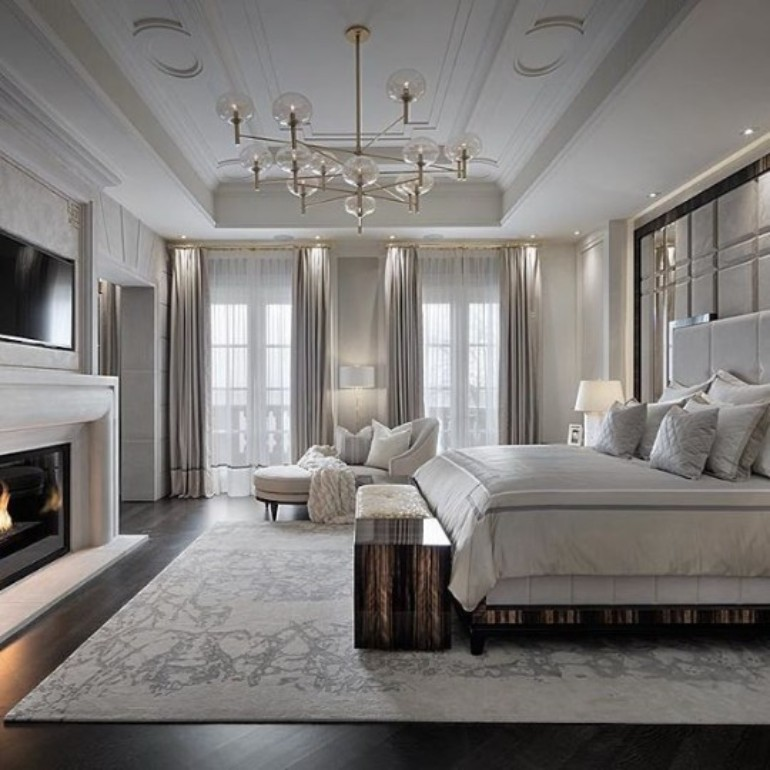 10 Modern Black White Master Bedroom Ideas Master