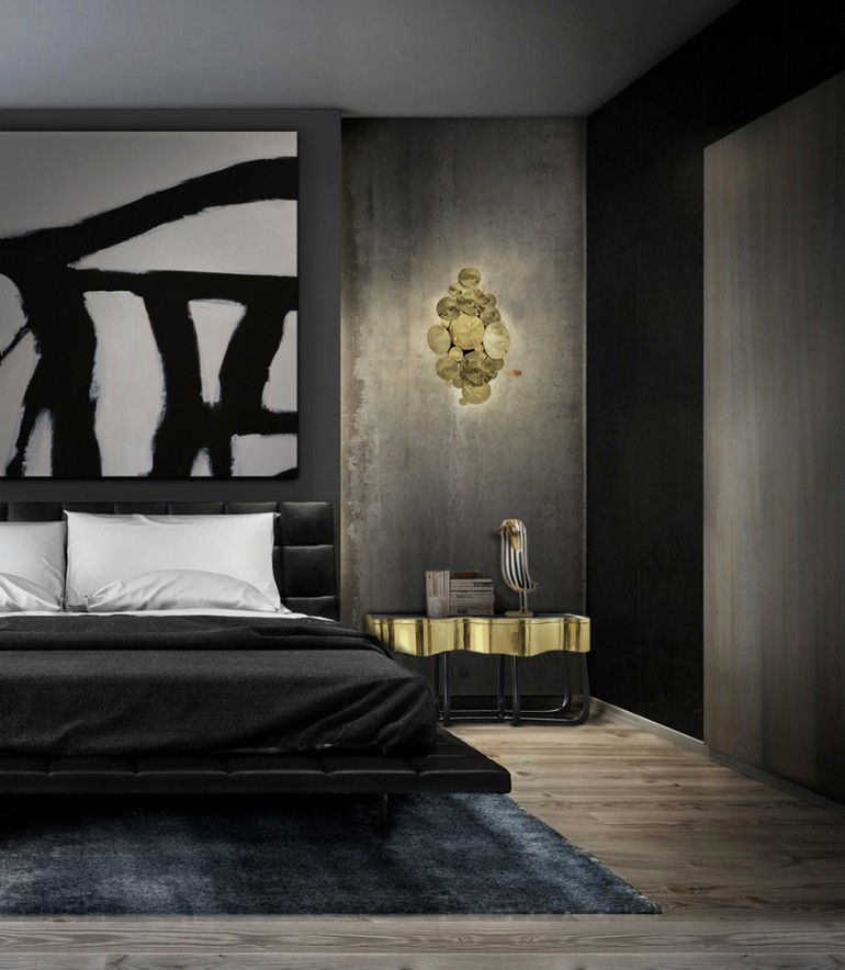 master bedroom ideas 10 Modern Black & White Master Bedroom Ideas Boca Do Lobo Sinuous Nightstand Luxury Bedroom Furniture Exclusive Design