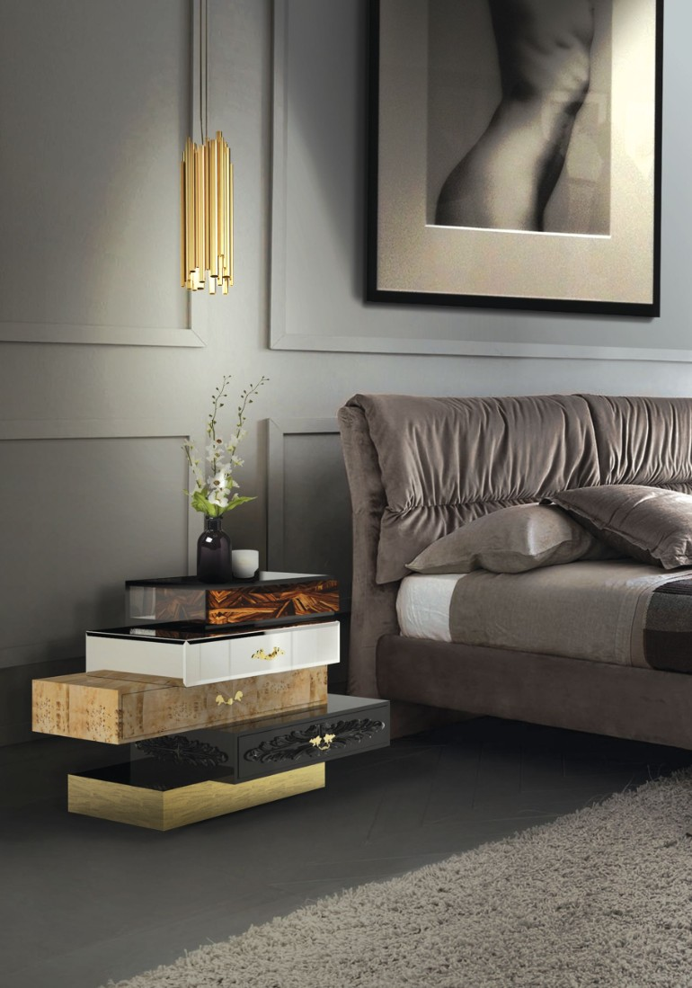 modern nightstands modern nightstands 10 Modern Nightstands For Your Modern Bedroom Discover the Ultimate Master Bedroom Styles and Inspirations 2