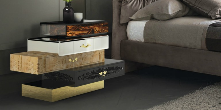 modern nightstands The Best Modern Nightstands for Your Master Bedroom boca do lobo master bedroom collection 1