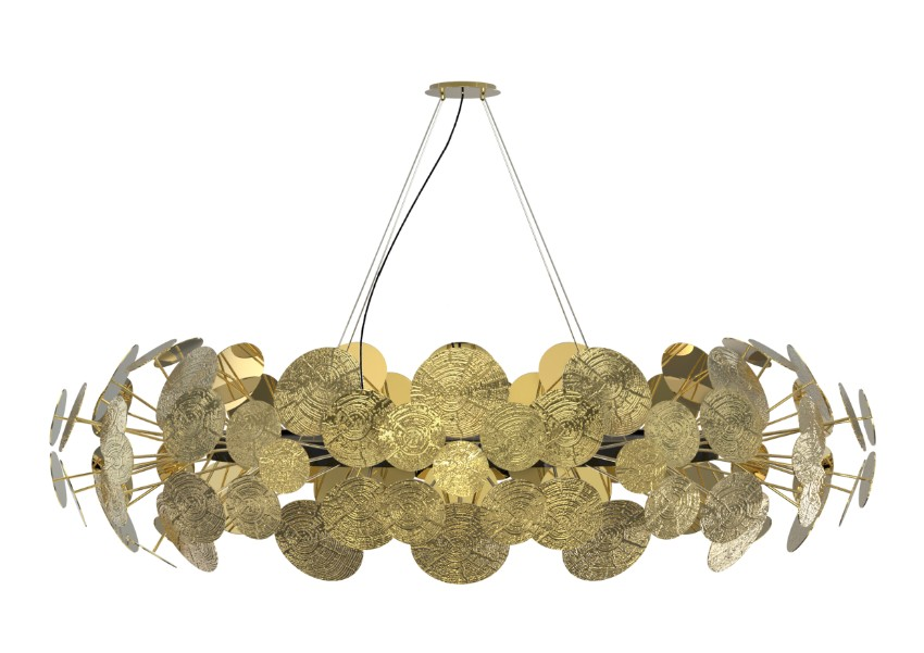 Iconic Lamps To Decorate Your Master bedroom Master bedroom Iconic Lamps To Decorate Your Master bedroom newton chandelier 02