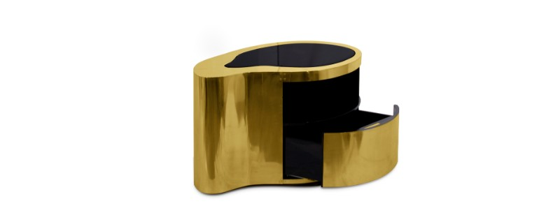 master bedroom Black and Gold Nightstands for your Master Bedroom Black and Gold Nightstands for your Master Bedroom 12