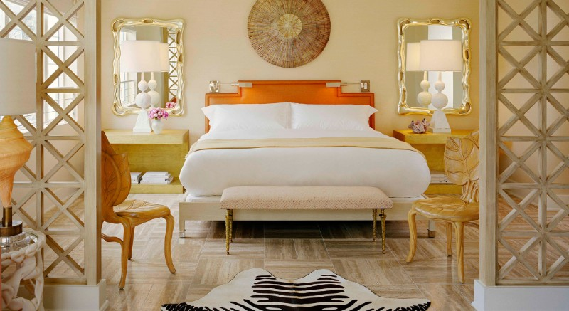 bedroom design The Best Bedroom Design Sets by Kelly Wearstler 7 Tides South Beach Hotel Miami