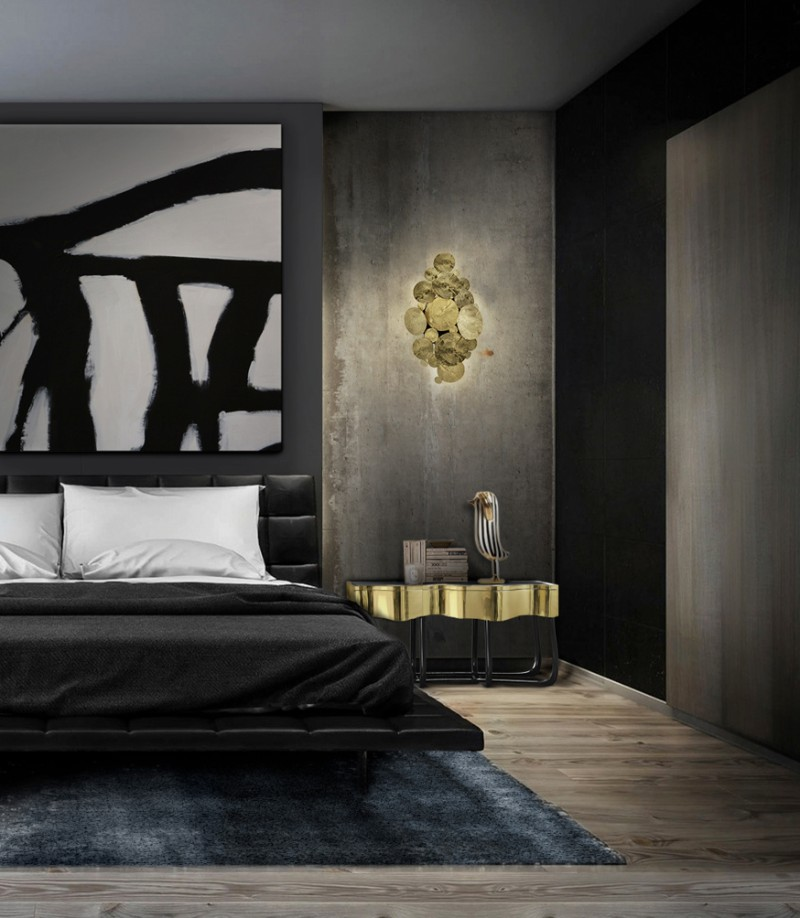 black and white bedrooms Trending Black and White Bedrooms Sinuous by Boca do Lobo