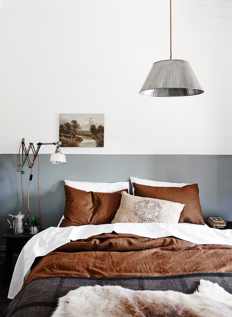 The Perfect Color Palette For Your Master Bedroom color palette The Perfect Color Palette For Your Master Bedroom gray and copper